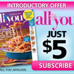 April All You Magazine Coupons + $5 Subscription Offer!