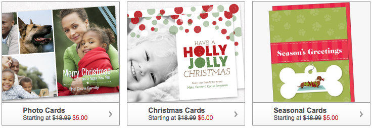 Staples Christmas Cards