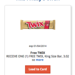 FREE Twix Candy Bar at Kroger (Today Only!)