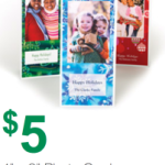 Staples: 50 Personalized Christmas Cards Only $5 (Reg $39.99) – Ends 12/21!