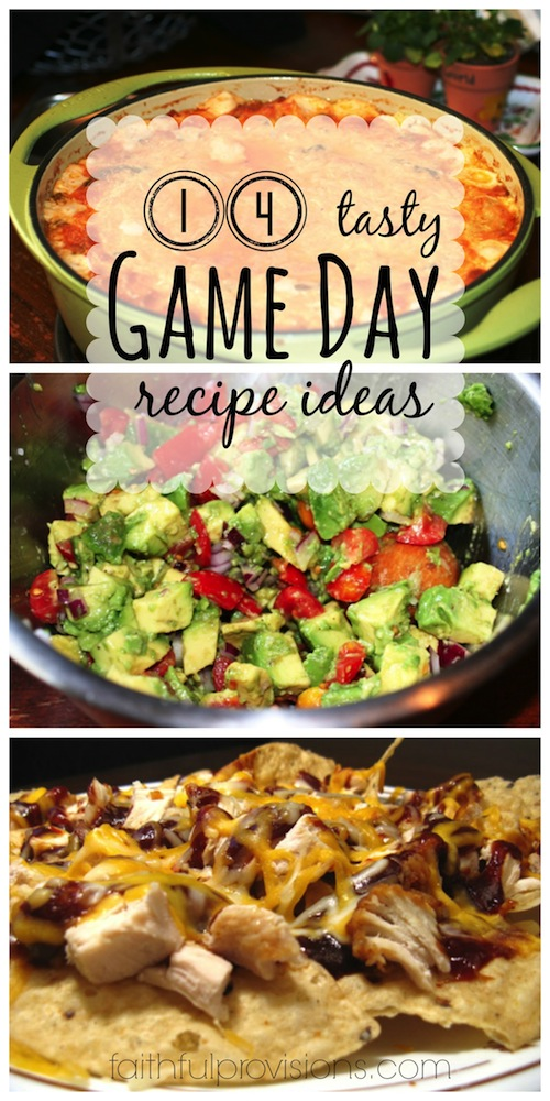 Superbowl Recipe Ideas