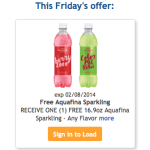 FREE Aquafina Sparkling at Kroger (Today Only!)