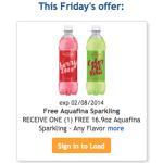 FREE Aquafina Sparkling at Kroger (Today Only!)