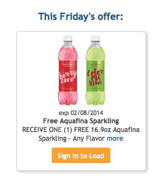 Free Aquafina Sparkling
