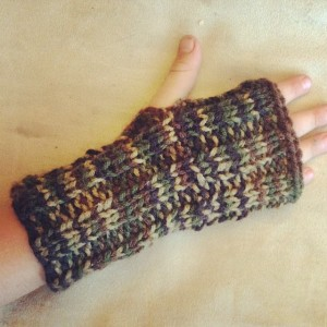 Fingerless Kids Glove