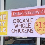 Whole Foods: Organic Whole Chicken Only $1.99/lb (February 21st)
