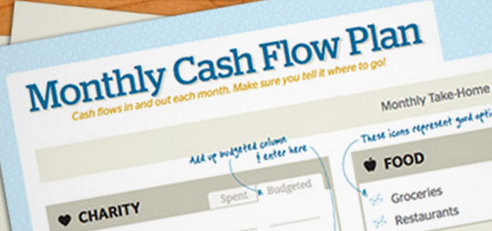 Free Download: Monthly Cash Flow Plan From Dave Ramsey - Faithful ...