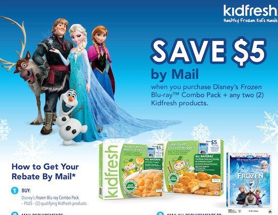 Frozen movie rebate - Faithful Provisions