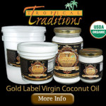 Tropical Traditions Coconut Oil — FREE Shipping Code! [Ends Tonight at Midnight]
