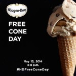 FREE Cone Day at Haagen-Dazs (May 13th)