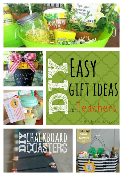 Teacher Gift Ideas | Faithful Provisions