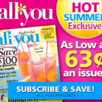 All You Magazine Only $.63 An Issue (Ends 7/31)!