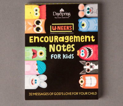 Encouragement Cards for Kids | Faithful Provisions