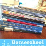 My Homeschool Curriculum List for 2014-2015