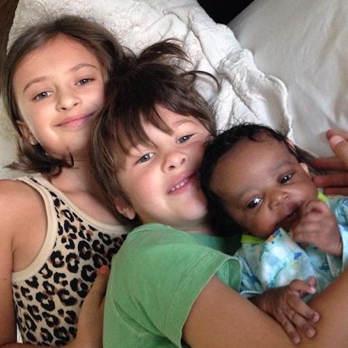 Children with Ladd