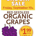 Whole Foods: Organic Grapes Only $1.99/lb (Today Only!)