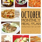 Monthly Meal Plan for October | Faithful Provisions