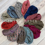 Cents of Style Exclusive: Houndstooth Infinity Scarf for $11.95 Shipped