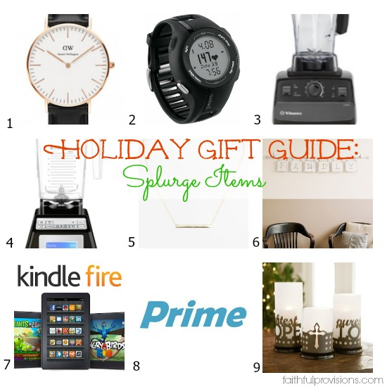 Holiday Gift Guide: For Her - Items to Splurge On | Faithful Provisions