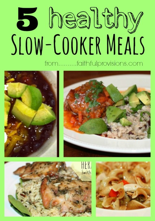 5 Healthy Slow Cooker Recipes