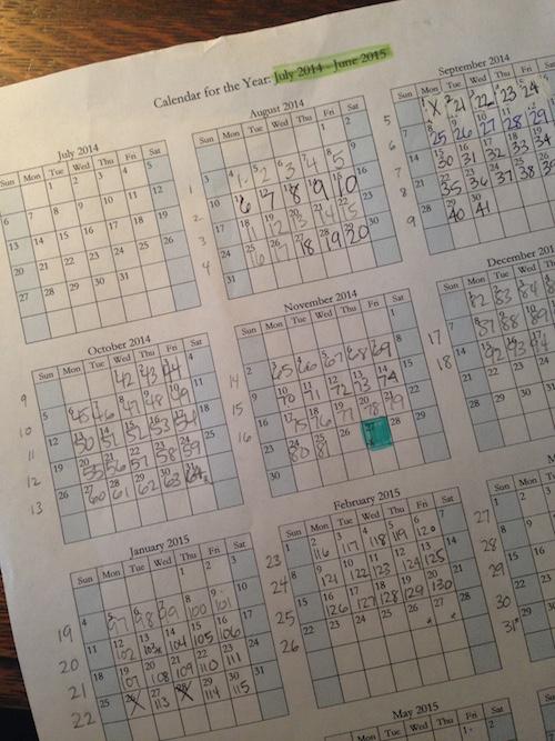Donna Young Homeschool Calendar