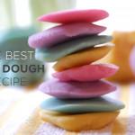 Easy Multi-Color Playdough Recipe