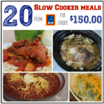 20 Slow Cooker Meals at Aldi for Under $150!!
