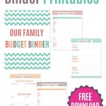 Free Family Budgeting Printables & More