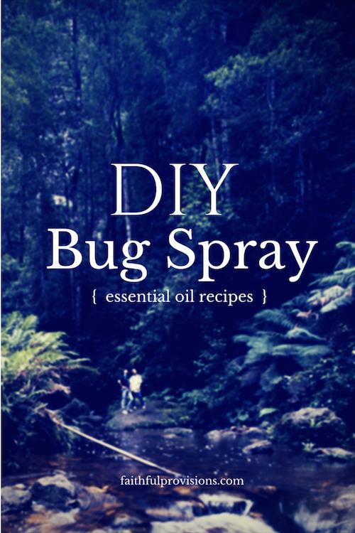 DIY Bug Spray Recipe