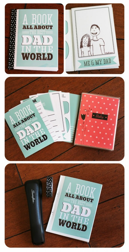 Fathers Day Printable book