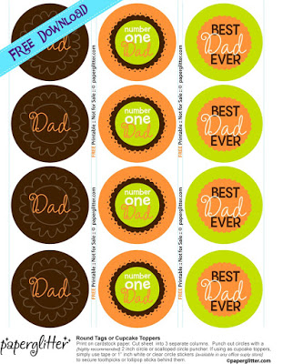 fathers day toppers