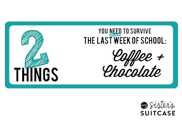 Coffe and Chocolate Teacher Printble