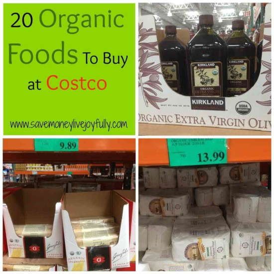 20 Organic Things at Costco