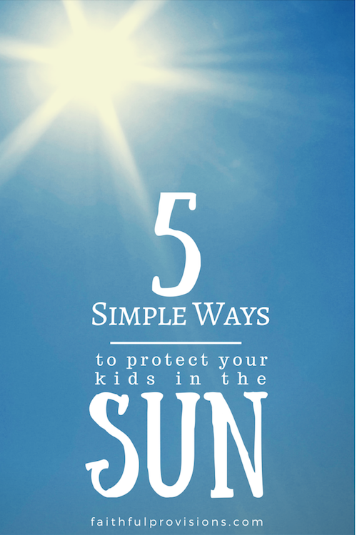 5 Simple ways to protect in sun