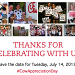 Reminder: Chick-fil-A FREE Meal Day {Dress Like a Cow}