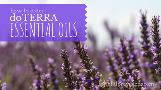 how to order doterra oils