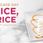 Cheesecake Factory: Half Price Cheesecake