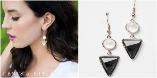 Cents of style free triangle earrings