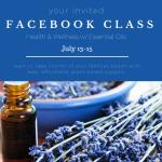 Reminder: Facebook Class Starts Today!