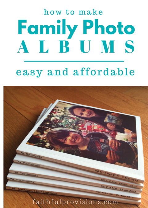 Family Photo Albums Affordable