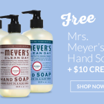 ePantry: $10 Credit + Free Mrs. Meyer's Hand Soap + FREE Shipping