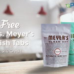 ePantry: Free Mrs. Meyer's Dish Tabs, $10 Credit + FREE Shipping!