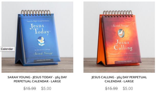 Jesus Callin perpetual calendar