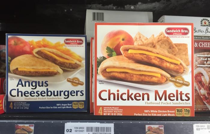 Sandwich Bros shelf