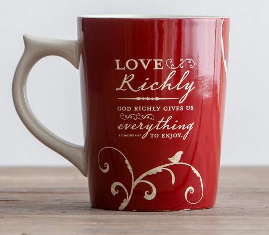 Love Richly Mug