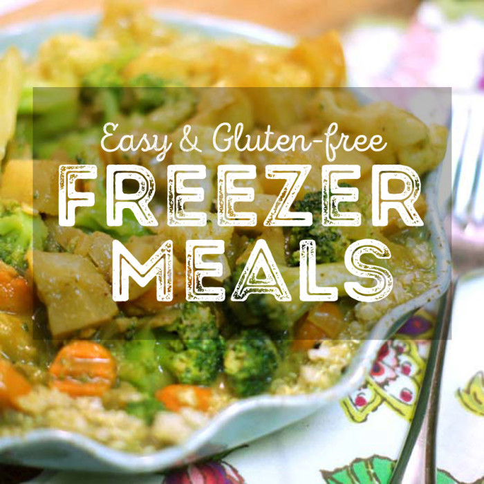 Healthy Gluten-Free Freezer Meals