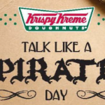 Krispy Kreme: Free Donuts on Pirate Day (September 19th)