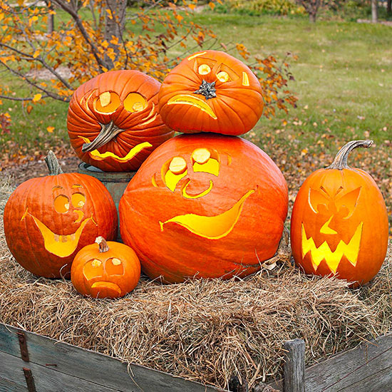 Get Hundreds Of Pumpkin Carving Patterns From Various Websites Happy