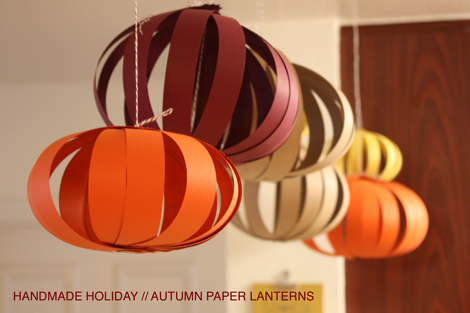 Autumn Paper Lanterns