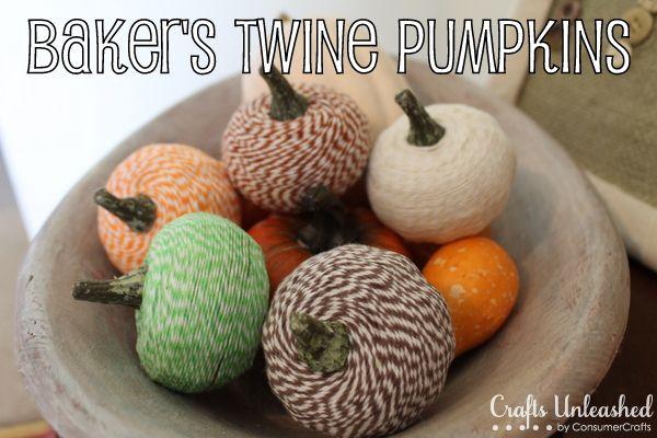 Baker's Twine Pumpkin